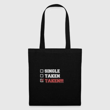Single - Taken - Taken!!! - Stoffbeutel