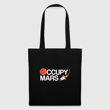 Occupy Mars Planet Space - Stoffbeutel