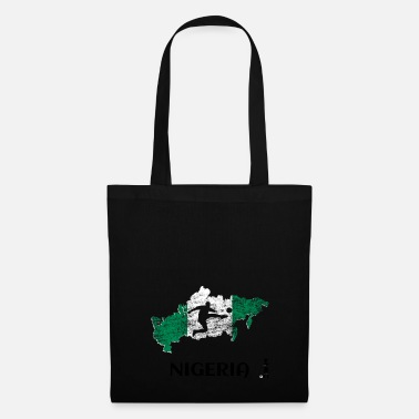 le football enfant -Fanshirt Nigeria - Tote Bag