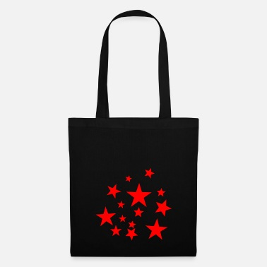 Red Star Red star, star, star, red, - Tote Bag