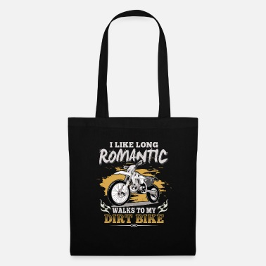 Superbike Motocross enduro sport gift · romantic - Tote Bag