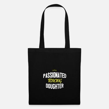 Distressed - PASSIONATED FENCING DAUGHTER - Tote Bag