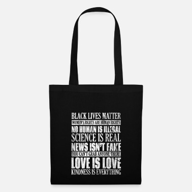 Human Rights Shirt for human rights - tolerance for people - Tote Bag