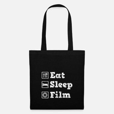 Film Eat, sleep, film - gift for cameraman - Tote Bag