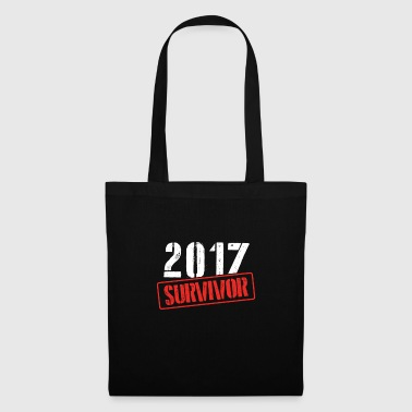2017 Survivor Welcoming 2018 Happy New Year - Bolsa de tela