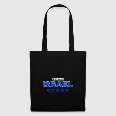 Israel - est. 1948 - Gift Jews Star of David - Tote Bag