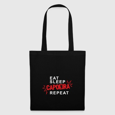 Eat Sleep Capoeira Repeat - Tote Bag