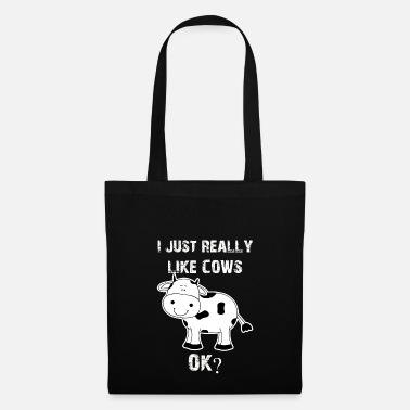 Cow Cow, cows, cow, Cow funny farmer - Tote Bag
