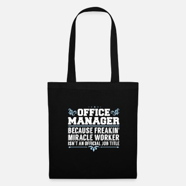 Worker Miracle Worker Office Managers - Tas van stof
