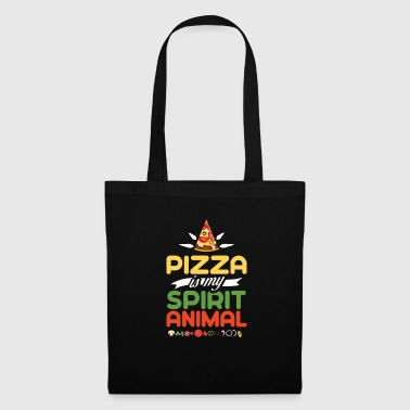 Pizza Is My Spirit Animal Tee Shirt Gift - Tote Bag
