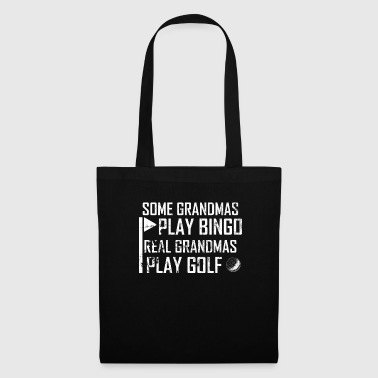 Play My grandma plays golf - no bingo gift - Tote Bag