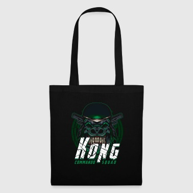 Monkey With Weapon - Gorilla Kong Commando Squad - Tote Bag