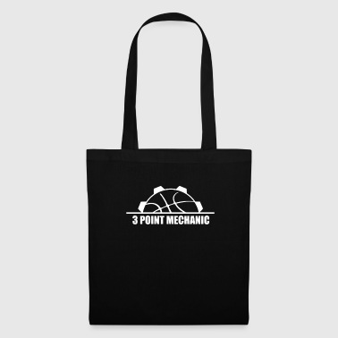Basketball 3 points mécanicien - Tote Bag