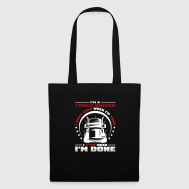 chauffeur routier - Tote Bag