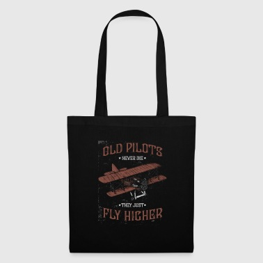 Old pilots fly higher - Tote Bag
