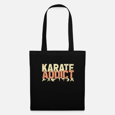Sports Karate Addict Dependent Addicted Martial Arts - Tygväska