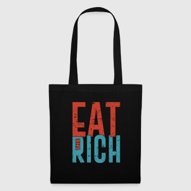 Eat the rich funny communism saying gift - Tote Bag