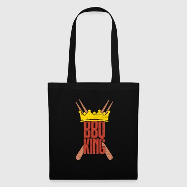 BBQ King Grill King Birthday Gift - Tote Bag