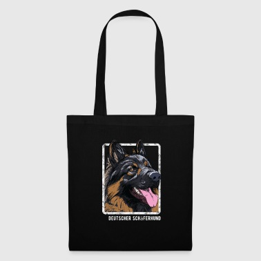 Dogs - German Shepherd - Tote Bag