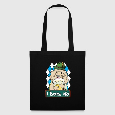 Poodle dog Oktoberfest Wiesn gift - Tote Bag