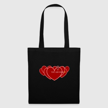 Gps GPS de navigation d'amour - Tote Bag
