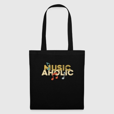 Musicaholic music hollywood music orchestra - Tote Bag