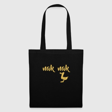 little duck is chattering - Tote Bag