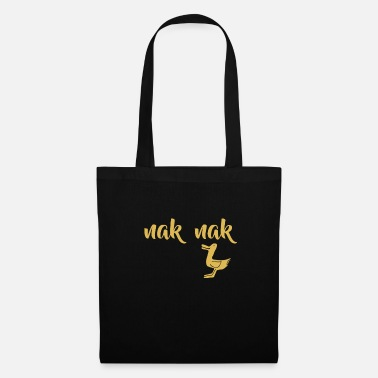 Chatter little duck is chattering - Tote Bag