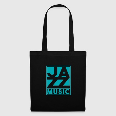 Jazz music Christmas gift birthday - Bolsa de tela