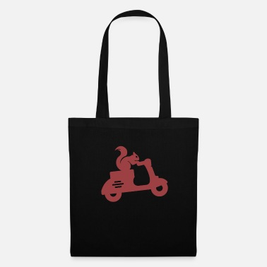 Scamp Squirrel moped - Tote Bag