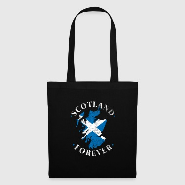 Scotland Edinburgh Bagpipe Highland Kilt Map - Tote Bag