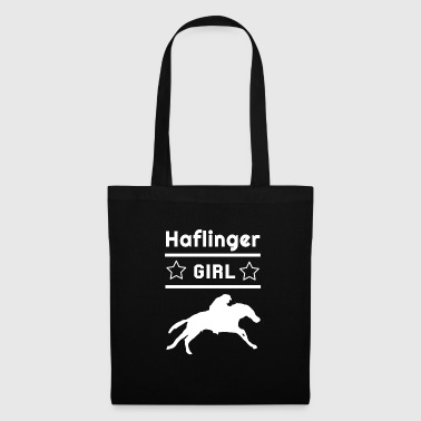 Haflinger Girl Rider Equitation - Tote Bag