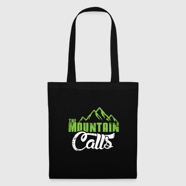The mountain gets a Christmas gift hiking - Tote Bag