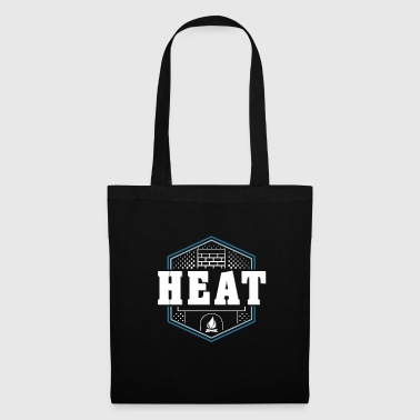 Heat fireplace gift kids christmas - Tote Bag