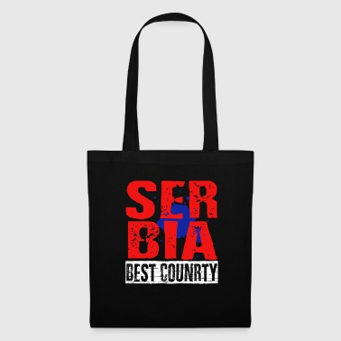 Serbia best country - Stoffbeutel