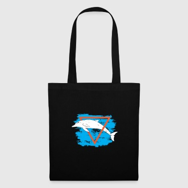 Animal ocean dolphin gift - Tote Bag