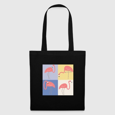 Pop art flamant - Tote Bag