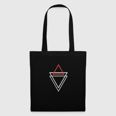 Geometric shapes triangles - Tote Bag