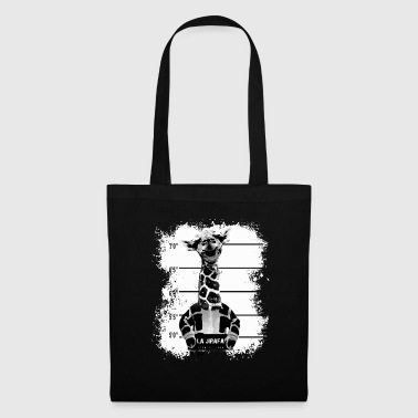 Cadeau imprimé animal La Jirafa - Tote Bag