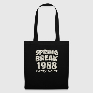 Spring Break Party Shirt 1988 Vintage Disco Funk - Kangaskassi