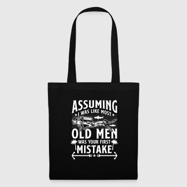 Baywatch Assuming I was like most Old Men - diver - Tote Bag