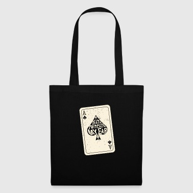 Ace-of-spades Death Twitches My Ear Ace of Spades Playing Card - Tote Bag