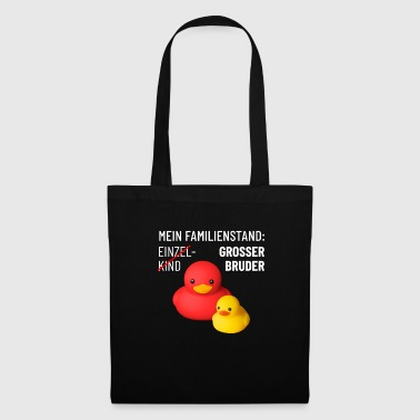 Rubber Duck Big brother baby offspring cute rubber ducks - Tote Bag