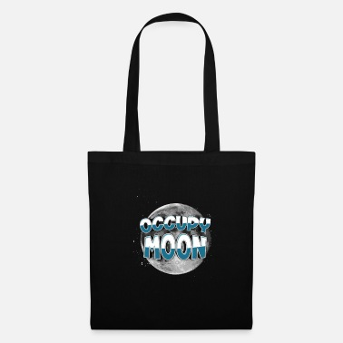 Occupy Occupez-vous Space Space SpaceX Rocket Occupy Moon - Tote Bag