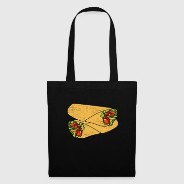 Construction Worker Doner gift food kids birthday - Tote Bag