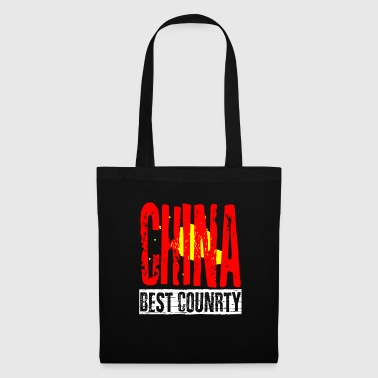 Global China best country - Stoffbeutel