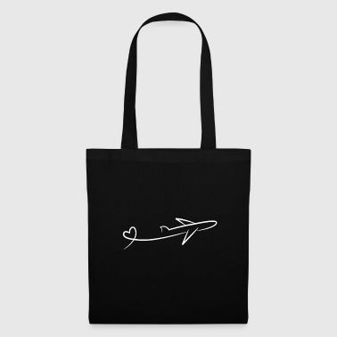Parachute I love fly - Tote Bag