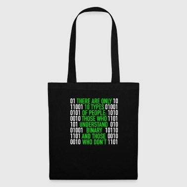 Binary There are only 10 Types of People Binary Code - Tote Bag