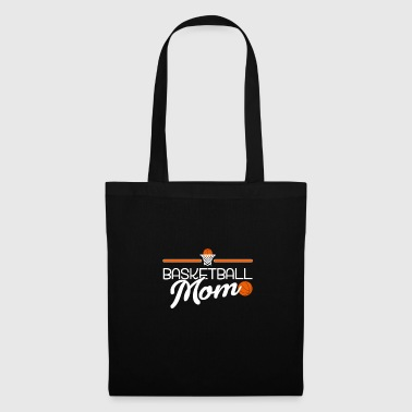 Lance Basketball maman mère basketball dribbler - Tote Bag