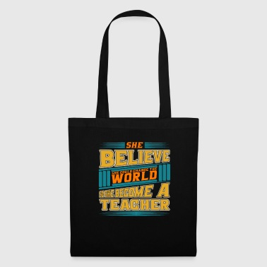 Save The World Teacher Became - World Change - Tote Bag